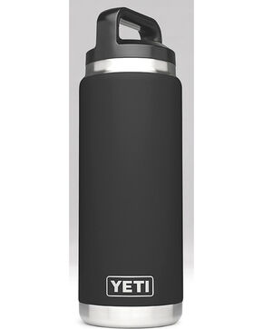 Yeti Black 26 oz. Bottle Rambler , Black, hi-res
