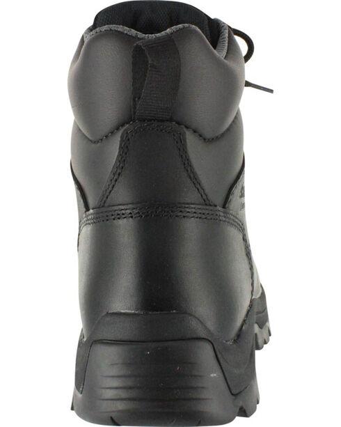 American Worker Men's Stealth Work Boots - Round Toe, Black, hi-res