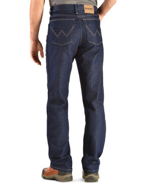 "Wrangler Jeans - Rugged Wear Classic Fit Stretch - Big 44"" to 52"" Waist, Indigo, hi-res"