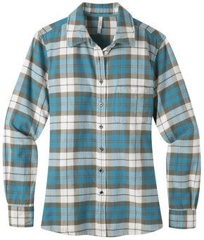 Mountain Khakis Women's Aspen Flannel Shirt, Blue, hi-res