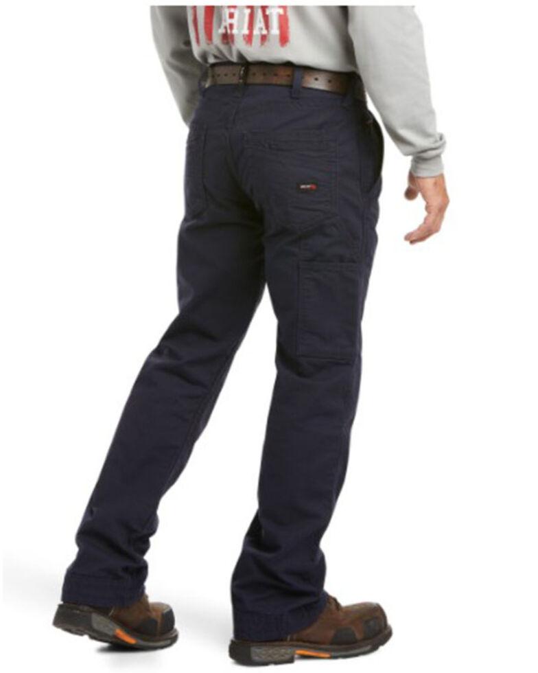 Ariat Men's FR M4 Navy Workhorse Bootcut Work Jeans - Big , Navy, hi-res