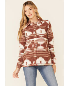 Idyllwind Women's Blanketed Love Shacket  , Tan, hi-res