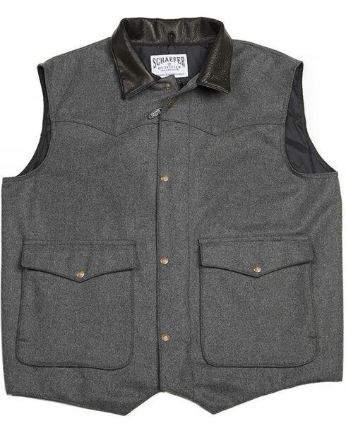 Schaefer Outfitter Men's 713 Wool Cattleman Vest - 2XL, , hi-res