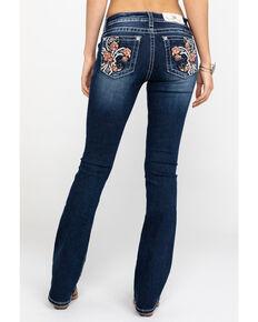 34e7771be8b Miss Me Womens Floral Fleur Dark Wash Bootcut 34 Jeans
