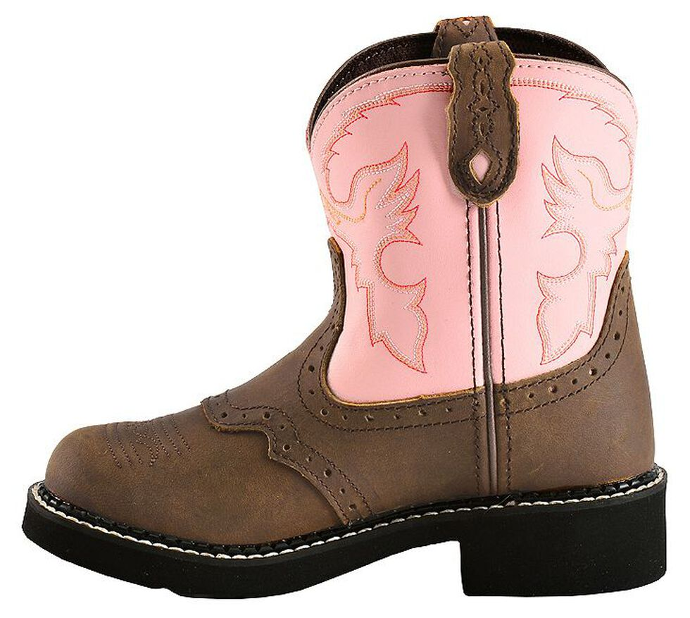 aa61f83fd18 Justin Youth Girls' Bay Apache Pink Gypsy Boots