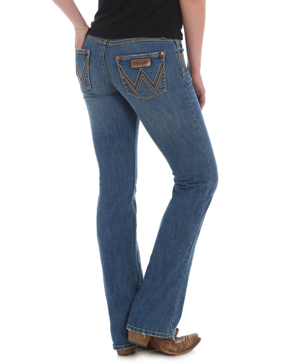 Wrangler Women's Retro Tombstone Sadie Boot Cut Jeans , Indigo, hi-res