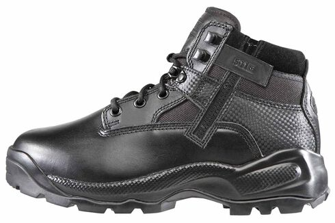 "5.11 Tactical Women's A.T.A.C. 6"" Side Zip Boots, Black, hi-res"