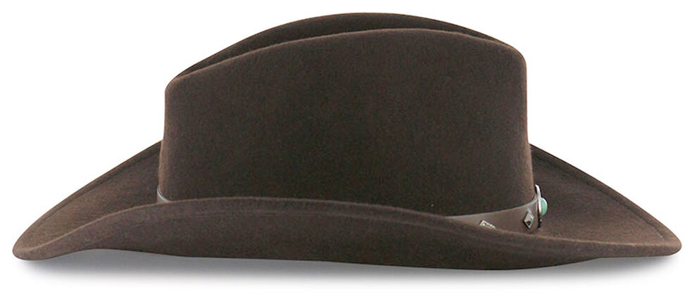 Cody James Men's Santa Ana Wool Hat Brown, Brown, hi-res