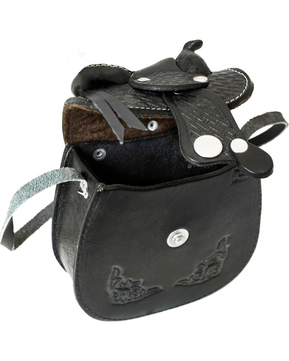 Western Express Women's Small Leather Saddle Bag, , hi-res