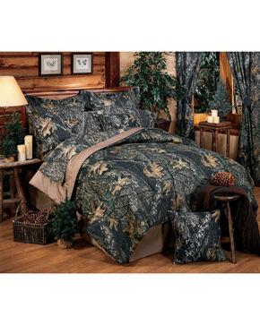 Mossy Oak New Break Up Queen Comforter Set, Camouflage, hi-res