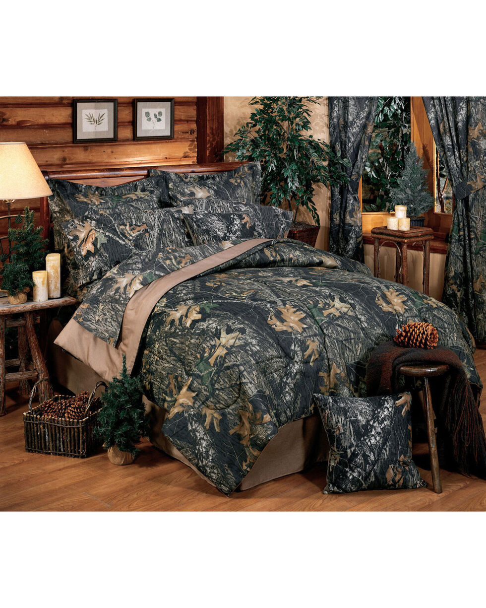 Mossy Oak New Break Up Queen Comforter Set, Camouflage, hi-res