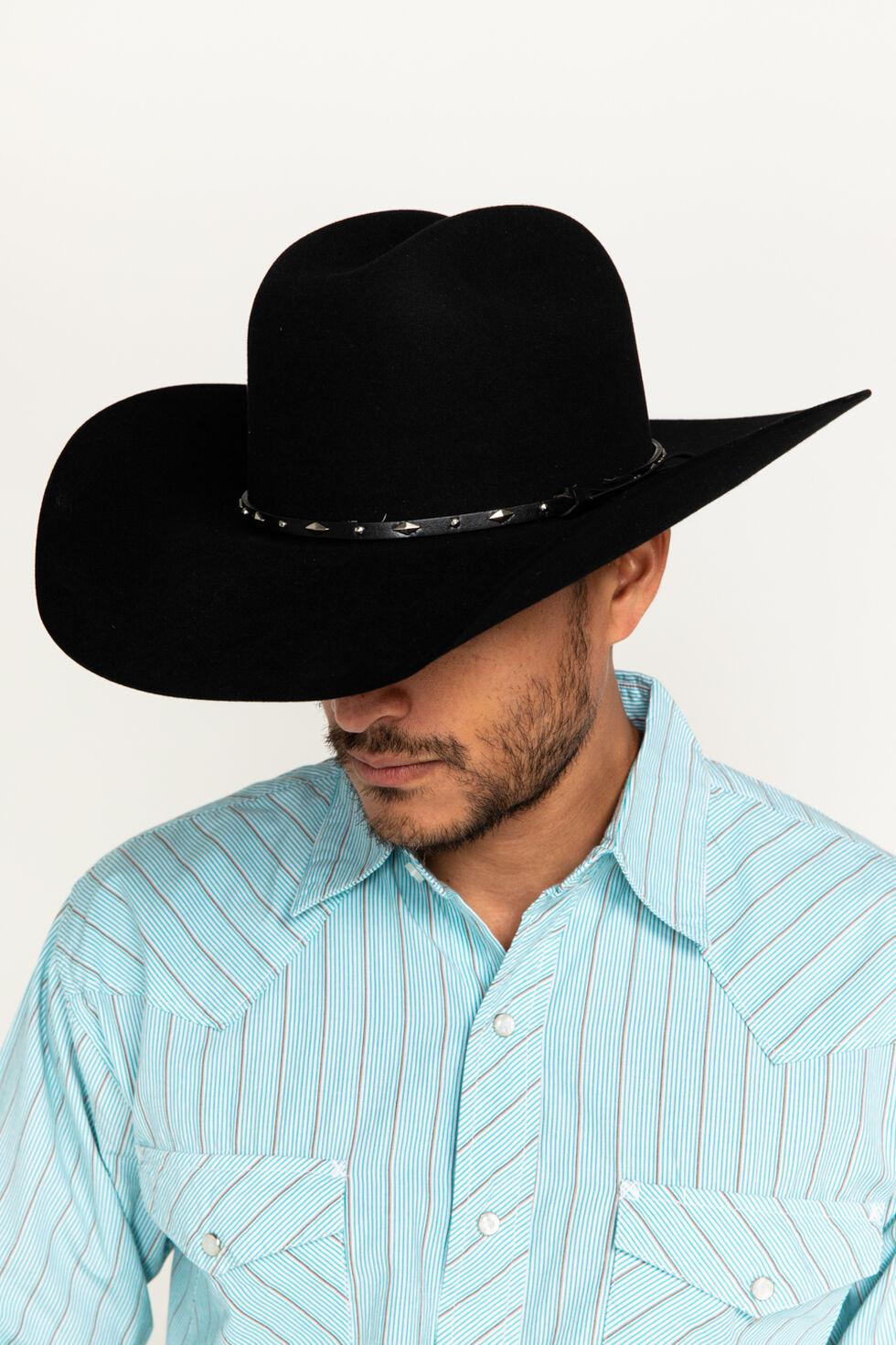 Cody James Colorado 3X Tycoon Wool Felt Cowboy Hat, Black, hi-res