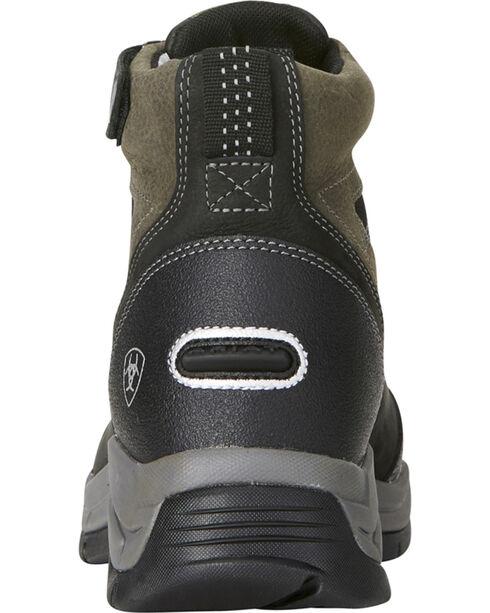 Ariat Women's Terrain Pro Zip H2O Black Waterproof Boots - Round Toe, Black, hi-res