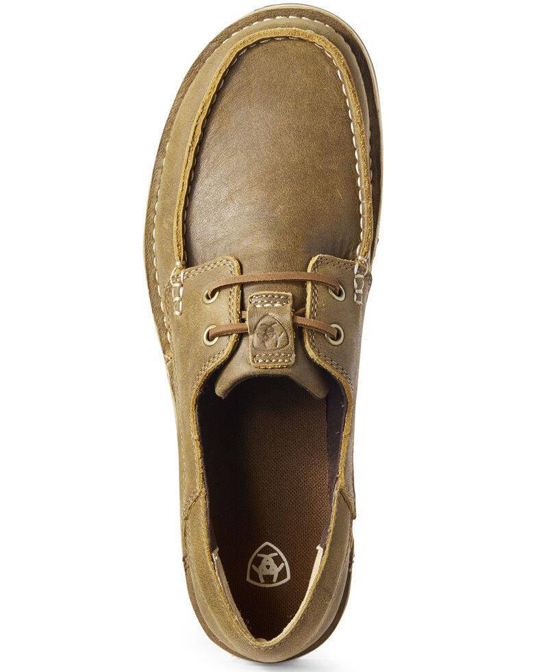 Ariat Men's Castaway Cruiser Shoes - Moc Toe, Brown, hi-res