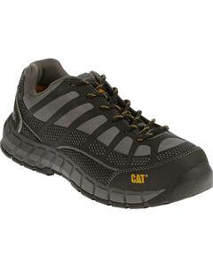 Caterpillar Women's Grey Streamline Work Shoes - Composite Toe , Grey, hi-res
