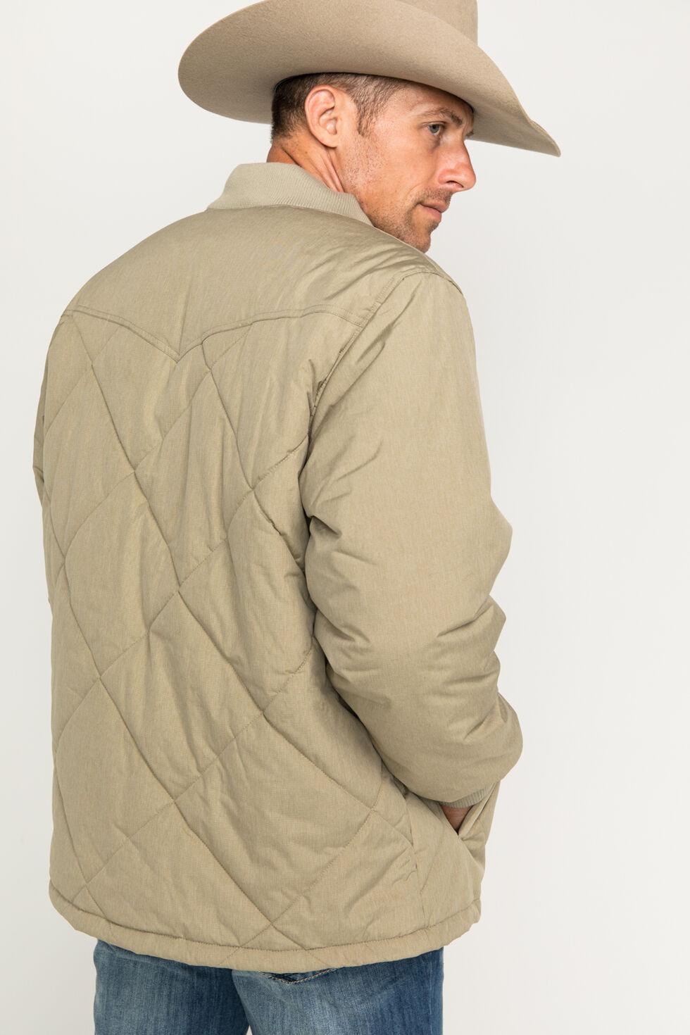 Cody James Men's Quilted Insulation Jacket, Khaki, hi-res