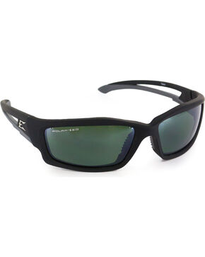 Edge Eyewear Kazbek Polorized Safety Sunglasses, Black, hi-res