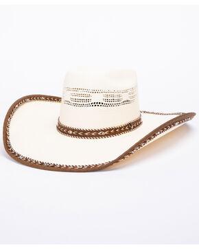 Bullhide Leather Neck 20X Bangora Hat , Natural, hi-res
