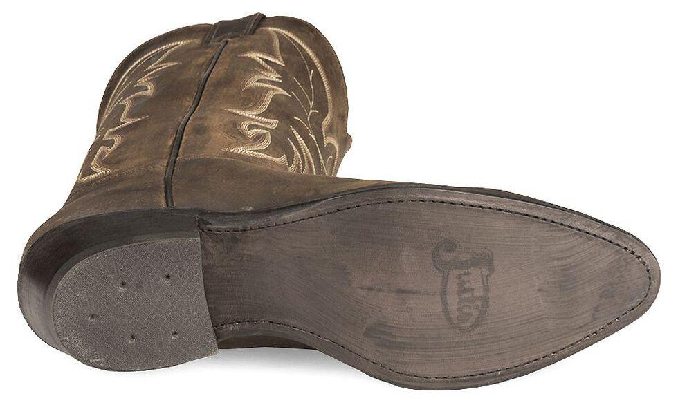 Justin Men's Bay Apache Basic Western Cowboy Boots - Medium Toe, Bay Apache, hi-res