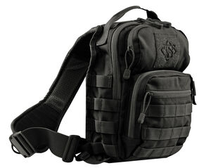 Tru-Spec Trek Sling Pack, Black, hi-res