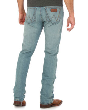 Wrangler Retro Men's Whitehall Slim Fit Jeans - Straight Leg, Light Blue, hi-res