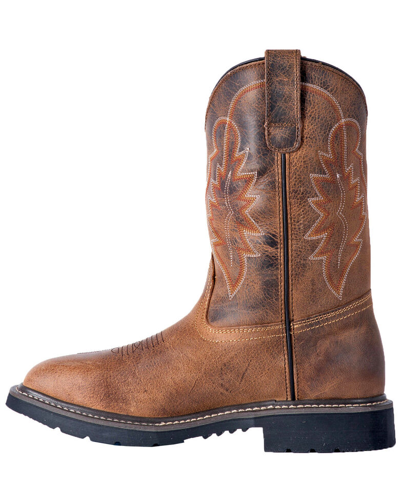 f8460ec3d81 McRae Men's Wellington Western Work Boots - Composite Toe