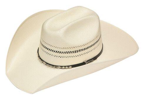 Twister 10X Truman Colton Straw Cowboy Hat, Natural, hi-res
