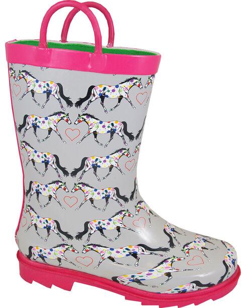Smoky Mountain Toddler Girls' Horseplay Waterproof Boots, , hi-res