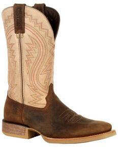 Durango Men's Rebel Pro Western Boots - Square Toe, Coffee, hi-res