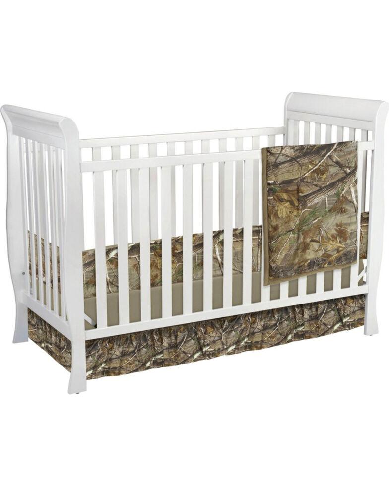 Carstens Realtree Ap Camo Crib Set 3 Piece Green Hi Res
