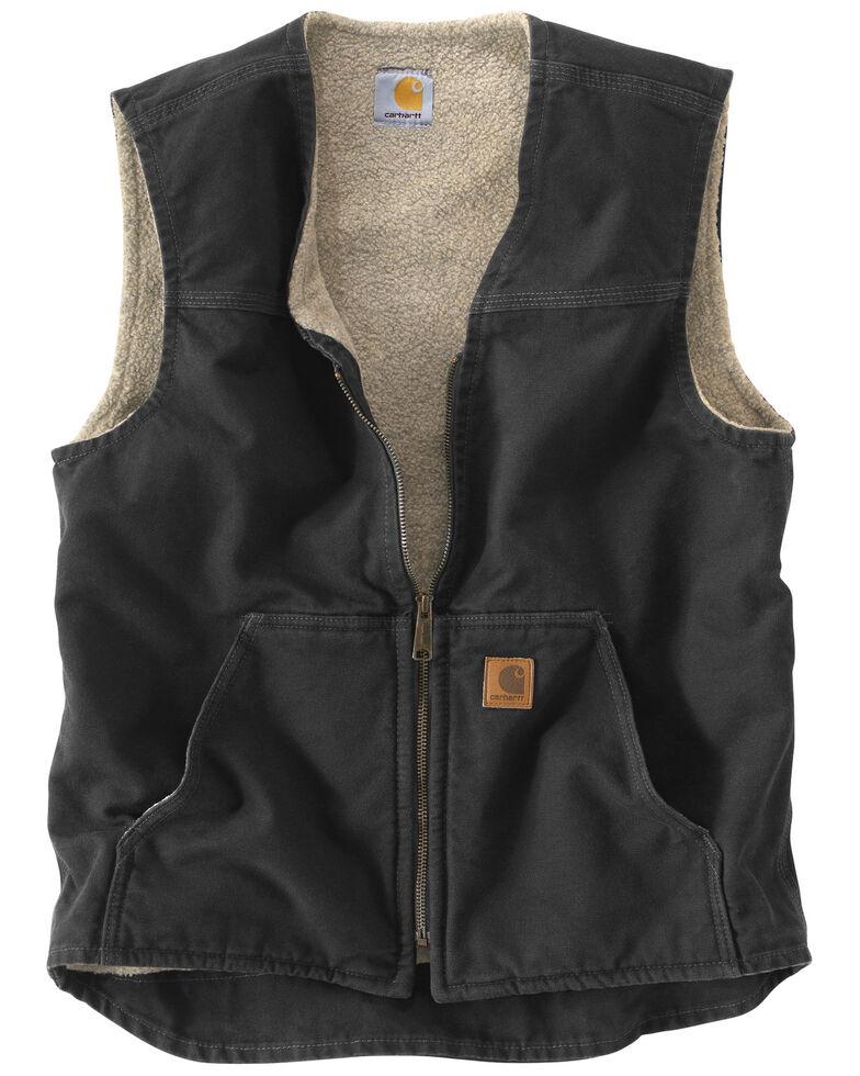 Carhartt Rugged Work Vest, Black, hi-res
