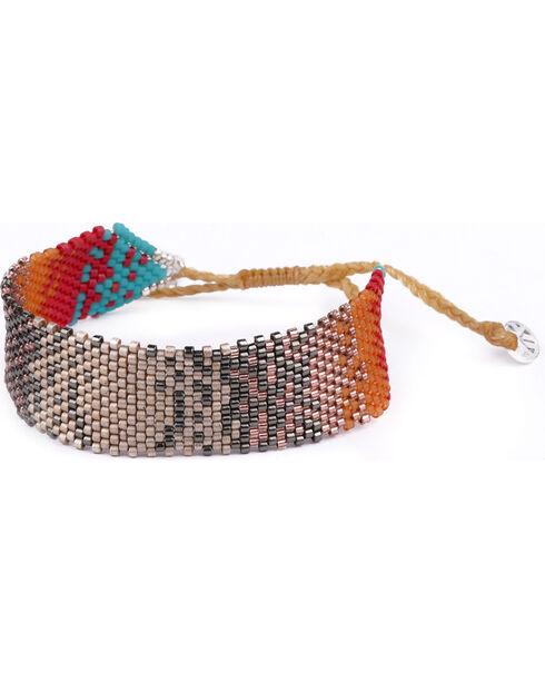 Kutula Kiss Women's Red Small Coachella Chaos Bracelet , Red, hi-res