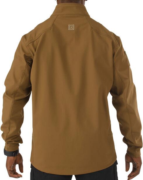 5.11 Tactical Sierra Softshell Jacket, Brown, hi-res