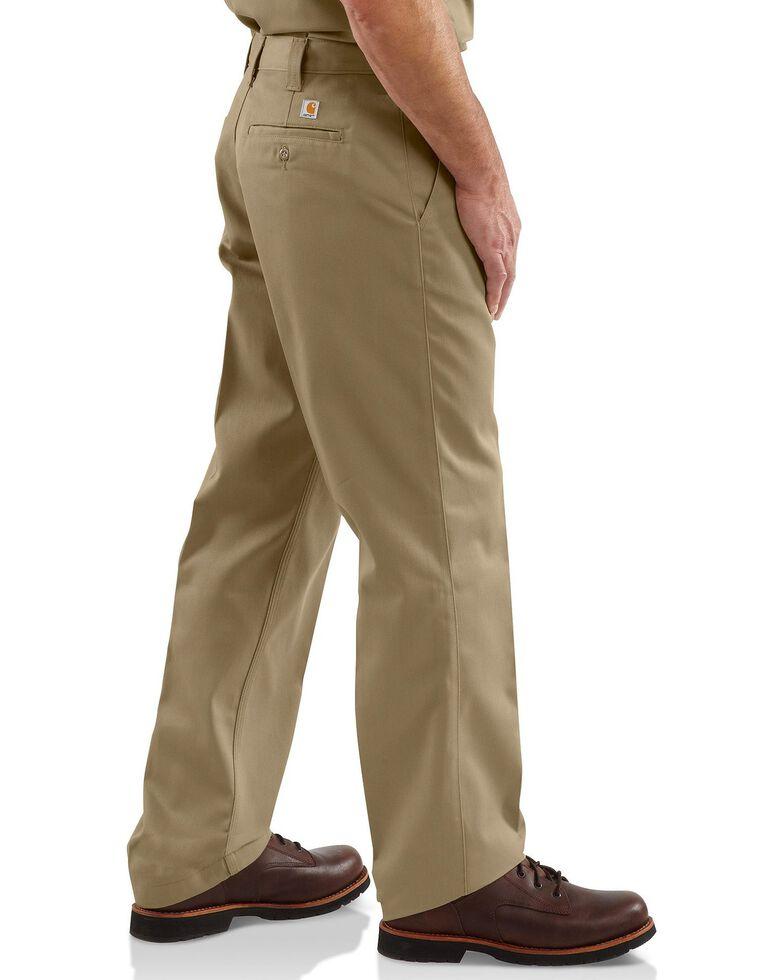 Carhartt Blended Twill Chino Work Pants, Khaki, hi-res