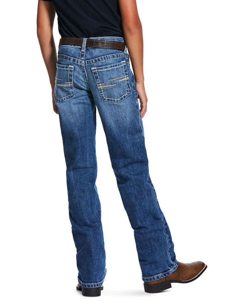 Ariat Boys' B5 Rattler Stretch Slim Straight Jeans , Blue, hi-res