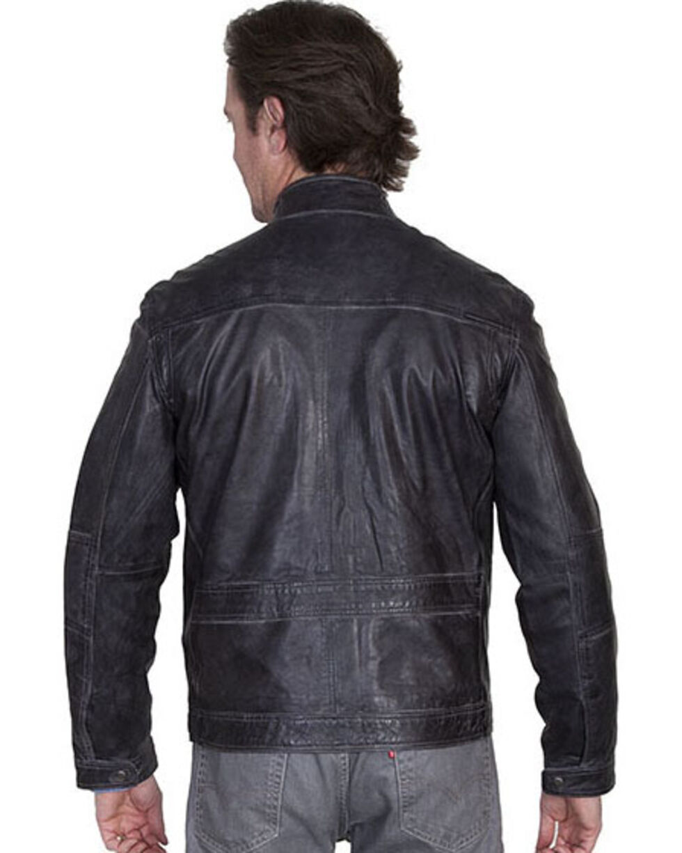 Scully Men's Hand Finished Lamb Jacket, Grey, hi-res