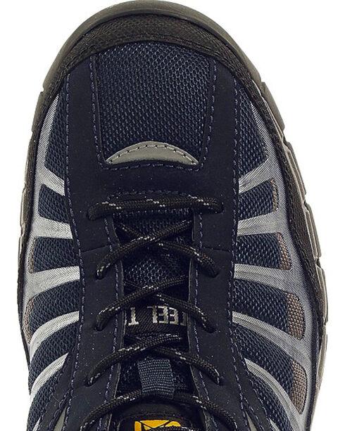 Caterpillar Men's Infrastructure Navy Work Shoes - Steel Toe , Navy, hi-res