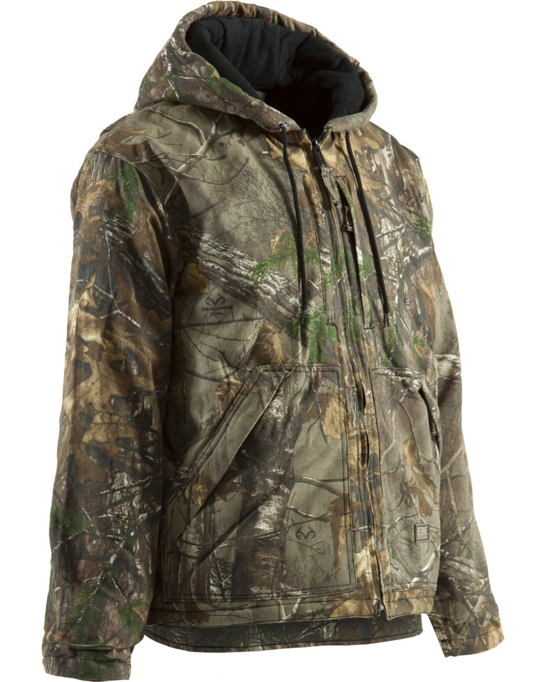 Berne Men's Realtree Camo Buckhorn Work Coat, Camouflage, hi-res