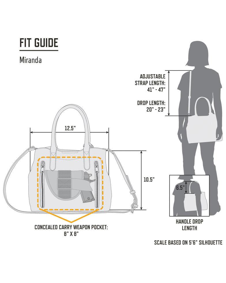 Browning Women's Miranda Concealed Carry Handbag, Blue, hi-res