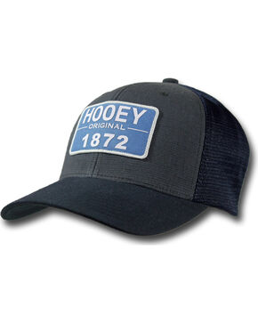 Hooey Men's Moab Patch Cap , Navy, hi-res