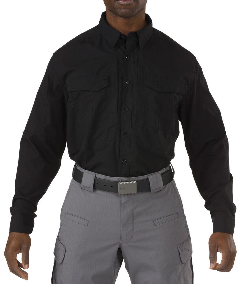 5.11 Tactical Stryke Long Sleeve Shirt, Black, hi-res