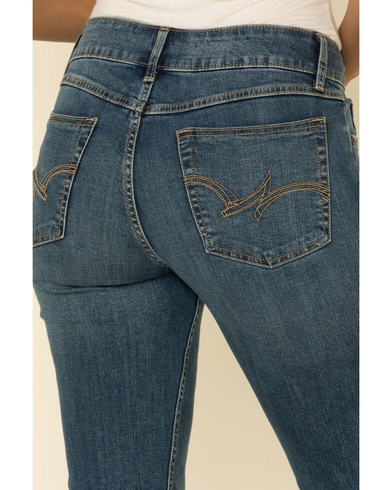 Wrangler Women's Essentials Kinsley Bootcut Jeans , Blue, hi-res