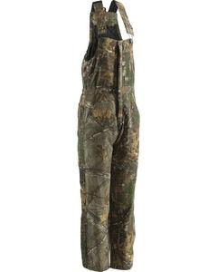 Berne Realtree Camo Coldfront Bib Overalls - Short Sizes, Camouflage, hi-res