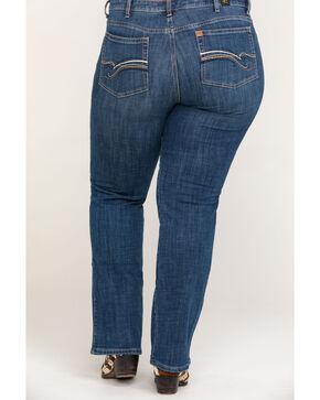 Wrangler Women's Aura Instantly Slimming Jeans - Plus Size , Indigo, hi-res
