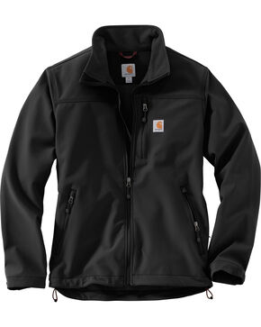 Carhartt Men's Black Denwood Jacket - Tall, Black, hi-res