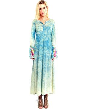 Aratta Women's Ava Maxi Dress , Blue, hi-res