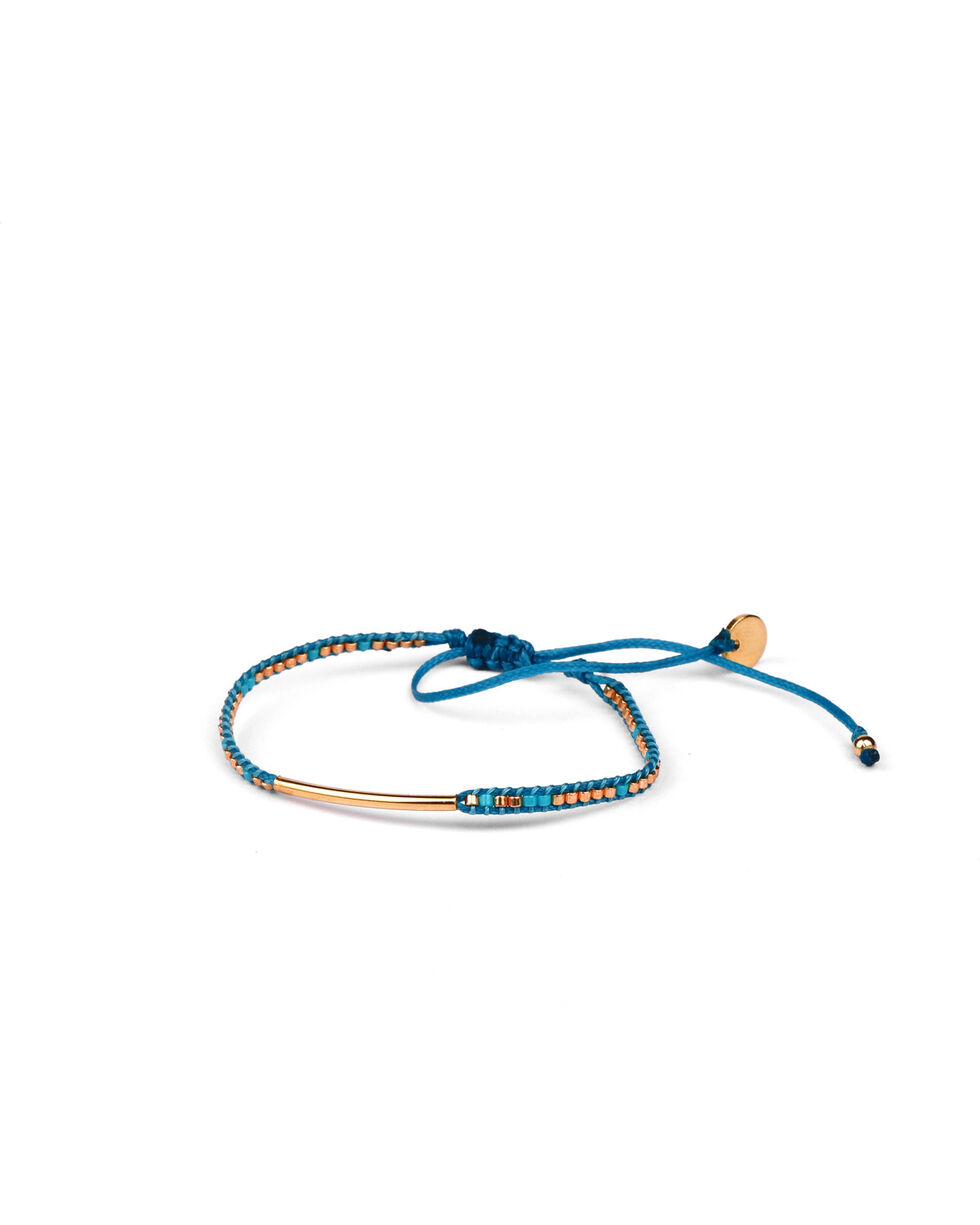 Kutula Kiss Women's Turquoise Chica Bar Bracelet , Turquoise, hi-res