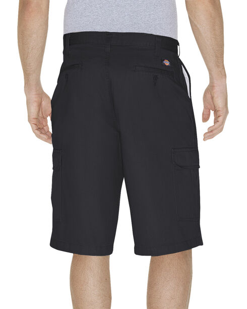 "Dickies Loose Fit 13"" Cargo Shorts - Big and Tall, Black, hi-res"