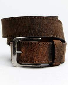 Hawx® Men's Extra Wide Work Belt, Brown, hi-res