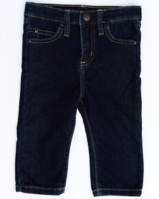Wrangler Infant Boys' Dark Stretch Bootcut Jeans , Blue, hi-res